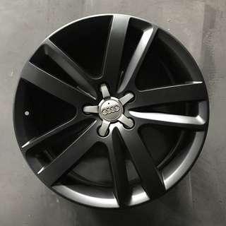 """Used 20"""" Original Audi Q7 Rims"""
