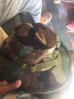 Camo bush hat digital