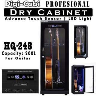 🚚 Digi Cabi  HQ-248 200L Electronic Dry Cabinet For Guitars