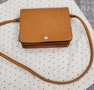 Zara Brown Sling Bag
