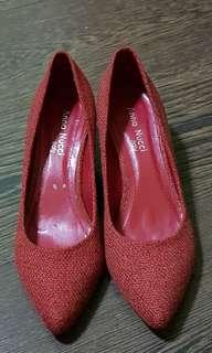 Red Heels shoe ( size 38 )