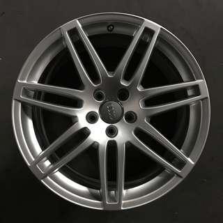 """Used 19"""" Original Audi Rims"""