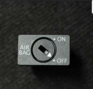🚚 VW Jetta Airbag On Off Switch