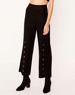 Glassons Black Popper Pants