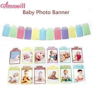 Baby Photo Banner