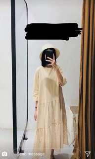 Korea Linen Dress