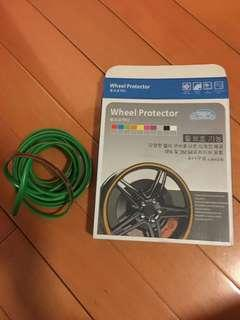 Green wheel protector 車輪保護貼 輪軚