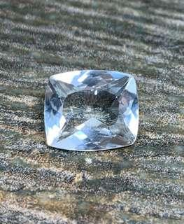 Aquamarine - Brazil  2.85 cts VVS Cushion Cut
