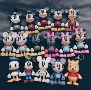 Mickey Mouse key chains 米奇朋友鎖匙扣