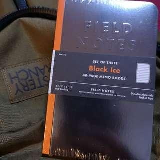 Field Notes Black Ice edition (limited)