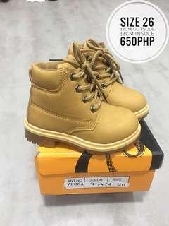 Timberland inspired boots kids