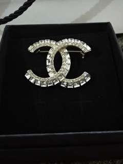 Authentic Chanel studded Brooch