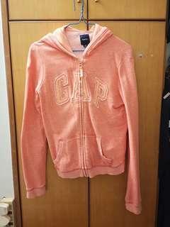 Gap外套淺橙hoodies
