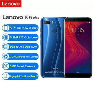 "Lenovo K5 3GB RAM + 32GB NEW!!!! 5.7"" Full View HD!!!"