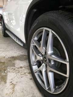 Mercedes-Benz GLC 250 Aluminum Side step