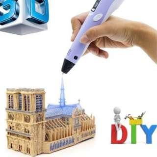 兒童畫3D列印筆節日禮品3D列印筆教育玩具