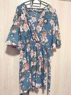Kimono set with shorts