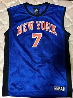 Authentic Carmelo Anthony Knicks Adidas Jersey