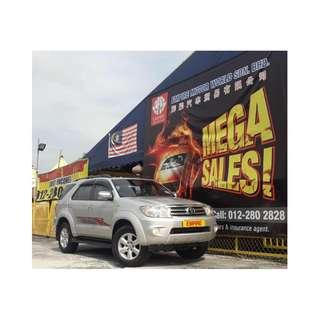 TOYOTA FORTUNER 2.7 ( A ) V-FACELIFT AWD !! 7 SEATERS SUV !! PREMIUM FULL HIGH SPECS !! ( WXX 7523 ) 1 CAREFUL OWNER !!