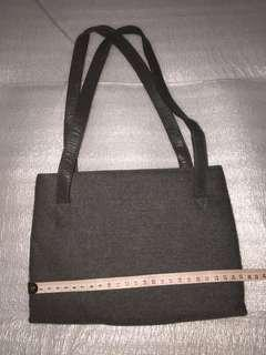 Greyish fashion med-small handbag