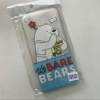 Iphone 7 Plus Casing (we bare bears)