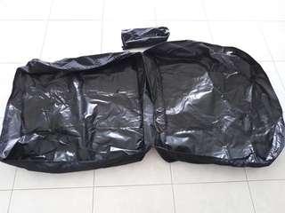 Folding bicycle carry bag