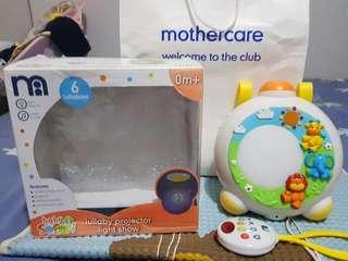 Mothercare lullaby projector light show