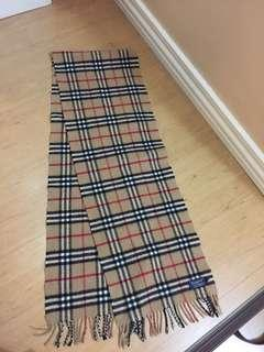 Authentic Like New Burberry Scarf