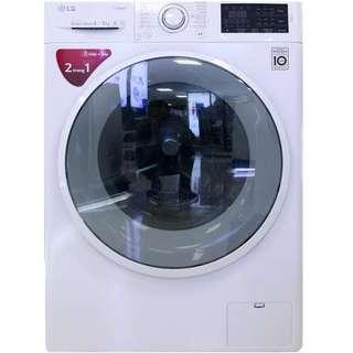 LG 8KL. Frontload Washer/Dryer 100% Dry