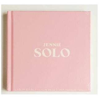 [SEALED/READY STOCK!!] Blackpink Jennie SOLO album+photocard