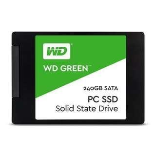 WD Green 2.5Inch 120GB SATA3 SSD