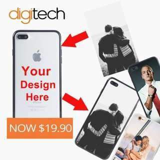 Personalized Photo Shockproof Case for all iPhones 6 & NEWER