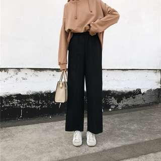 Women Simple Wide Leg Pants