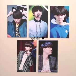 🌈 suga fansite code39 photocards