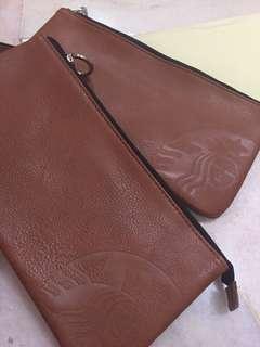 Starbuck pencil case/ clutch