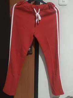 Korean stripe pants