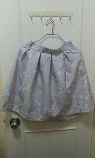 $30淺紫花花裙