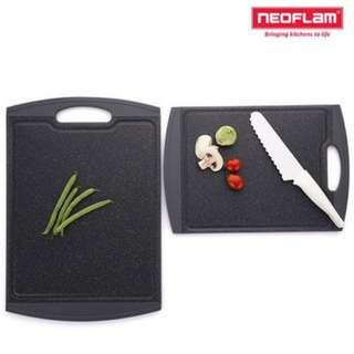 NEOFLAM Anti Bacterial Marble Cutting Board-Medium