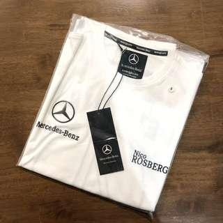 OFFICIAL MERCEDES BENZ Formula 1 NICO ROSBERG #4 T-shirt