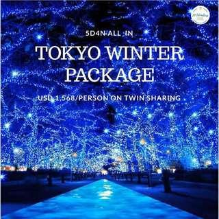 ALL IN TOKYO WINTER PACKAGE