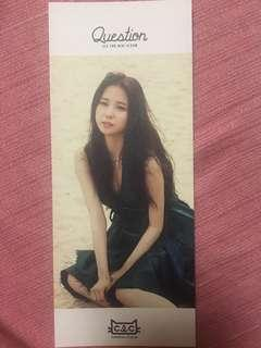 CLC 2nd Mini Question Album Yu Jin pc
