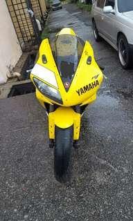 Yamaha r1 2001 sg / scrap /off road