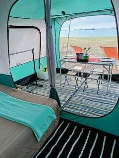 tent for booking for 2pax