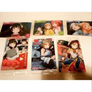 Lovelive Sunshine LLSS 水團 日本食玩卡 收藏卡 善子/露比/花丸/千歌/曜/黛雅