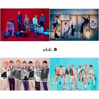 🌈 bts love yourself answer posters
