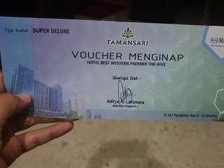VOUCHER HOTEL BEST WESTERN PREMIER THE HIVE (CAWANG,JAKARTA)
