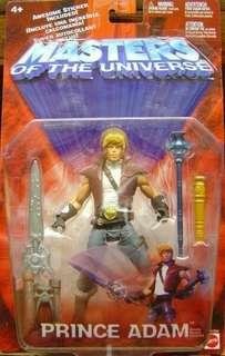 Prince Adam Masters of the Universe 2002 MOTU MOTUC Mattel action figure He-Man