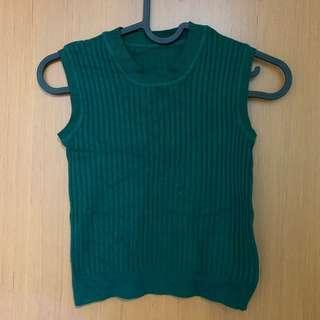 Knit Top in Olive