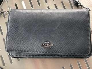 Preloved Coach clutch/sling bag/wallet