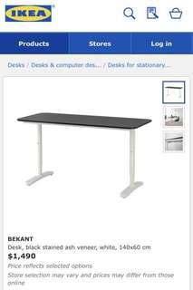 Ikea Desk 140 x 60